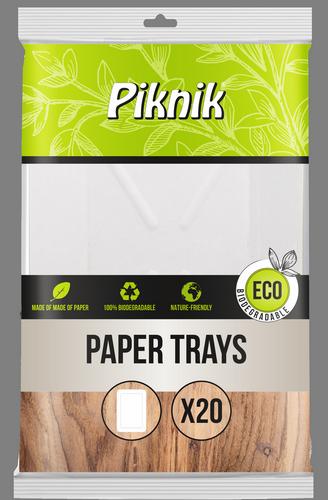 Tacki papierowe prostokątne (4037)