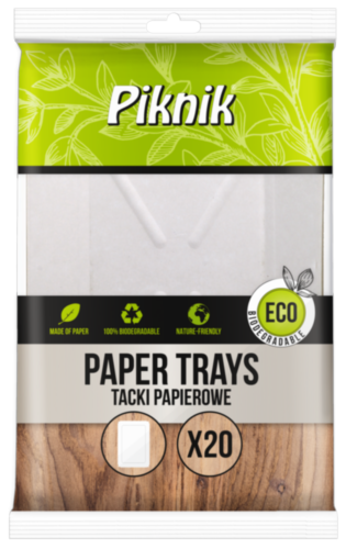 Paper tray rectangle