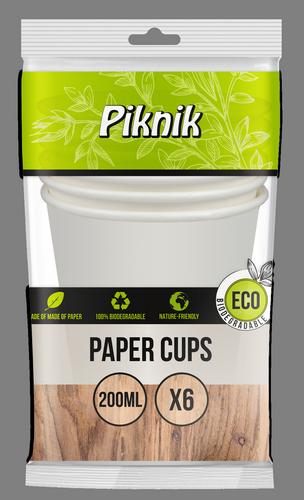 Kubki papierowe 200 ml (4076)